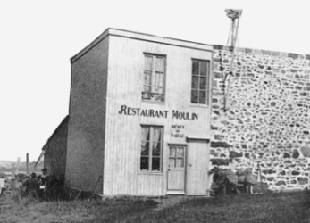 1884 - The Moulin restaurant