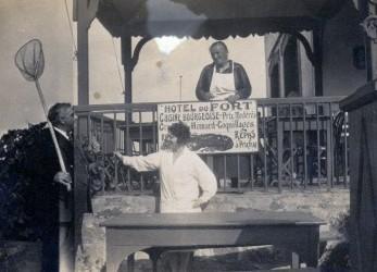 1928 - Hotel du Fort et des iles